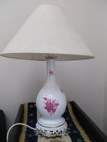 Herendi apponyi mintás lámpa
