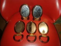 5 darab retró Pipere tükör