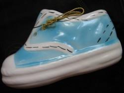 Kék porcelán cipő 2