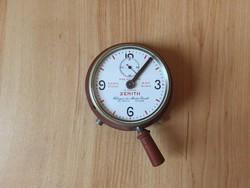 Zenith stopper óra telephonometer antik