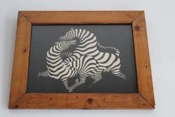 Vasarely Victor - zebrák
