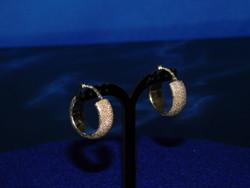 Arany 14k  fülbevaló pár 4.4 gr