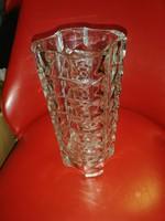 Préselt art deco üveg váza