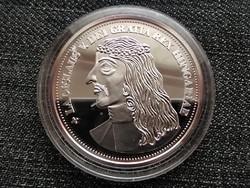 Királyi Koronák Utánveretben V. László 5 korona .999 ezüst PP (id23464)