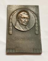 Franz Xaver Gabelsberger Bronz plakett