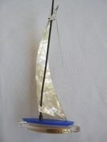 Retro balatoni emlék plexi vitorlás hajó