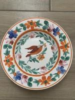 Kézzel festett antik tányér NYARALÁSRA GYŰJTÖK