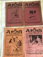 A RÓKA illusztrált szatírikus vicclap 1929. 5 száma egyben (magyar nyelvű, román kiadás)