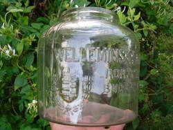 Régi üveg ruszlis