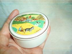 Gyönyörű Villeroy Boch porcelán dobozka