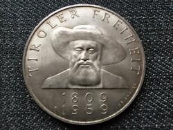 Ausztria Tirol felszabadításának 150. évfordulója .900 ezüst 50 Schilling 1959 (id23120)