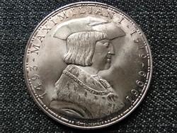 Ausztria I. Miksa halála 450. évfordulója .900 ezüst 50 Schilling 1969 (id23128)