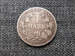 Németország Második Birodalom (1871-1918) .900 ezüst 1 Márka 1874 D (id23204)