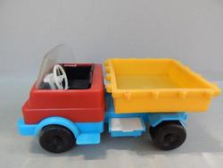 Régi ritka trafikáru bazáráru billenős teherautó.