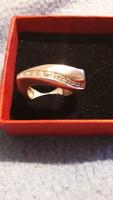 Különleges vastag ezüst gyűrű  újszerű