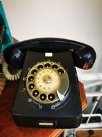 Retro vinyl record phone