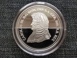 Királyi Koronák Utánveretben III. Károly 5 korona .999 ezüst PP (id23488)
