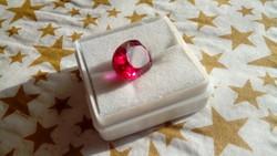 Természetes 7.70 karátos rubin drágakő tanúsítvánnyal