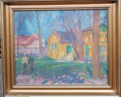 Kántor Andor : (1901-1990)  Szentendre
