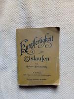 Robert Holletschek: Kunstfertigkeit im Eislaufen (1896)