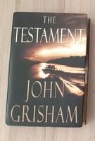 Angol nyelvű könyv- John Grisham: The Testament