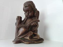 Nagyon szép hibátlan angyalka gipsz szobor.