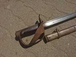 Olasz legénységi lovassági kard, 1800 vége, 1. világháború