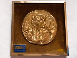 Olimpiai játékok 1960 Róma,Emilio Greco kerámia asztali dísz.