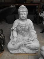 Rare healing Thai earth stone buddha 66cm feng shui antifreeze artificial stone statue