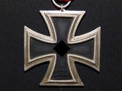Német 2. VH Vaskereszt Iron Cross / Eisernes Kreuz  Deschler Round-3 / kerek 3 /
