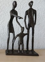 Bodrul Khalique -  (1978-2013)- bronz szobor ( IKEA )