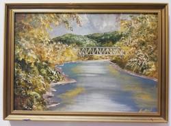 Róbert Andrásy bridge over the river weekly action1