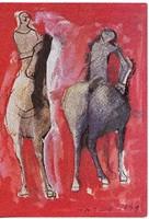 Képeslap / MARINO MARINI festménye /
