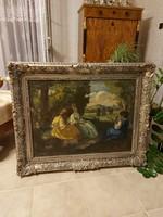 Belányi Viktor ragyogó festménye!