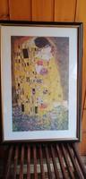 Gustav Klimt nyomat keretben. Alkudható!