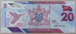 Trinidad és Tobago 20 Dollars 2020 UNC