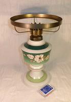 Walendorf porcelán petróleumlámpa. Leárazva!