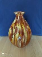 Dekoratív kerámia nagyméretű hagyma váza