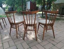 EXPO BRUSSELS 1958,3 darab Tatra nábytok szék,tervező J.Kobylka,retro,vintage