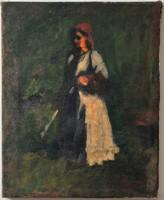 Koszta József (1861-1949) Vidéki asszony