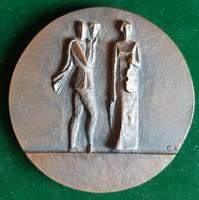 Czinder Antal: Színház, zene 1978, bronz érem