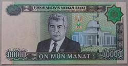Türkmenisztán 10000 Manat 2005 UNC