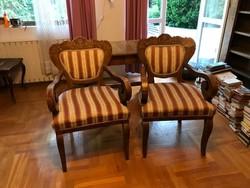 Biedermeier fotelek