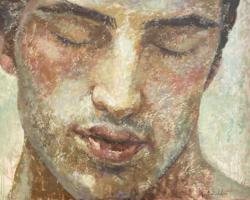 Montse Valdés-kortárs spanyol festő- F25-