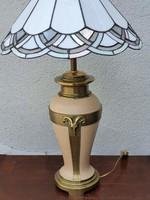 Empire stílusú Tiffany asztali lámpa