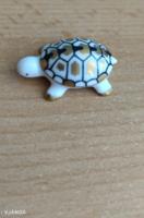 Mini porcelán teknős