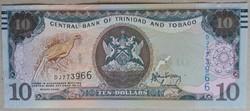 Trinidad és Tobago 10 Dollars 2006 UNC