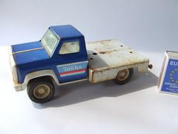 Régi, retró, vintage TONKA truck, lemez teherautó, lemezjáték az 1960-70-es évekből-sajnos hiányos