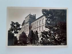 Régi képeslap 1942 Pápa M. kir. állami tanítóképző levelezőlap