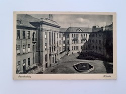 Régi képeslap Szombathely kórház levelezőlap